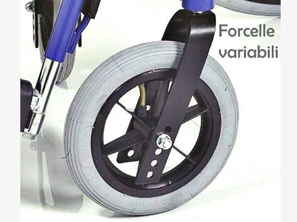Guida all acquisto di una sedia a rotelle per malati for Sedia a rotelle ruote piccole